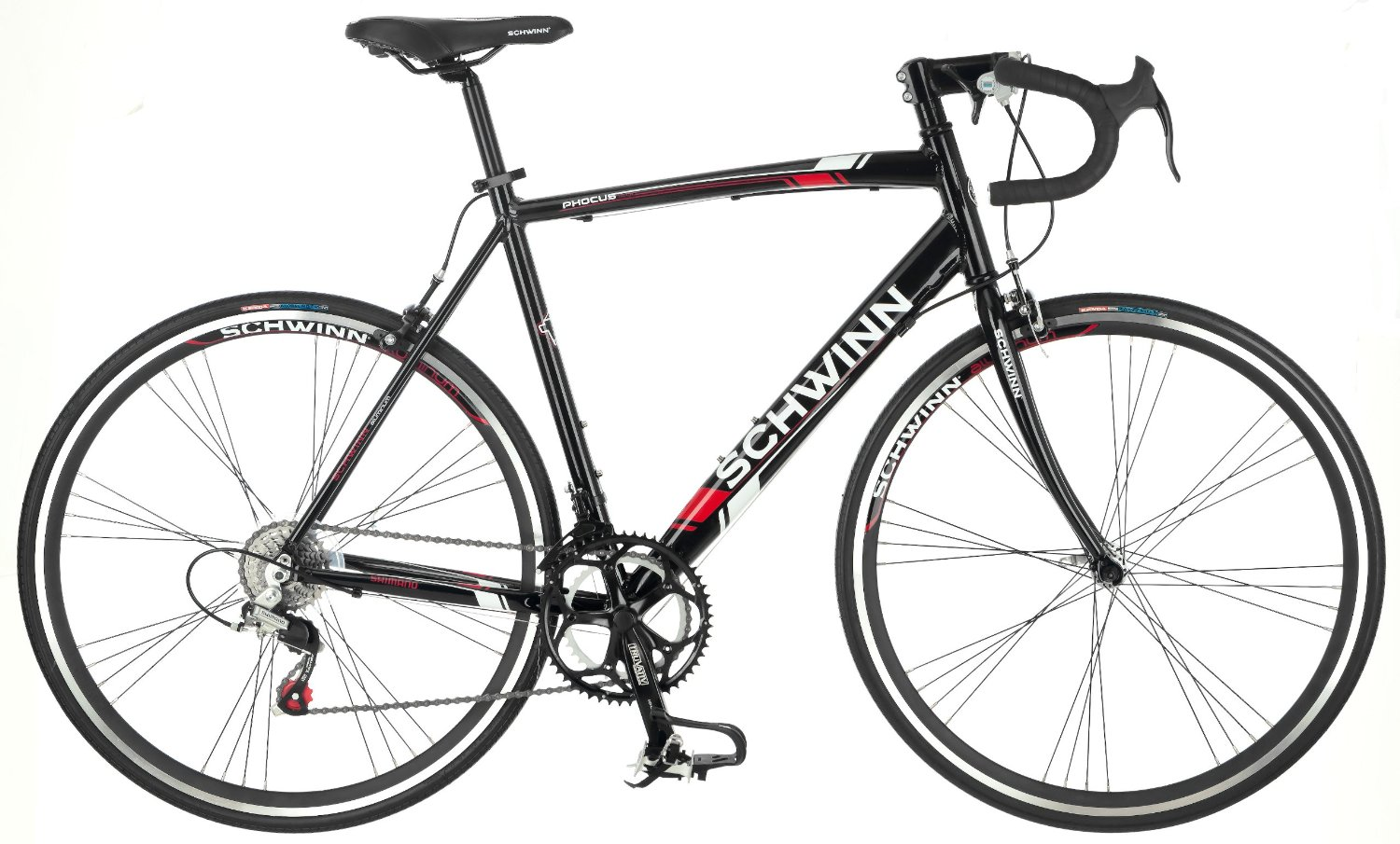 Schwinn Mens Phocus 1400 700C Drop Bar Road Bicycle