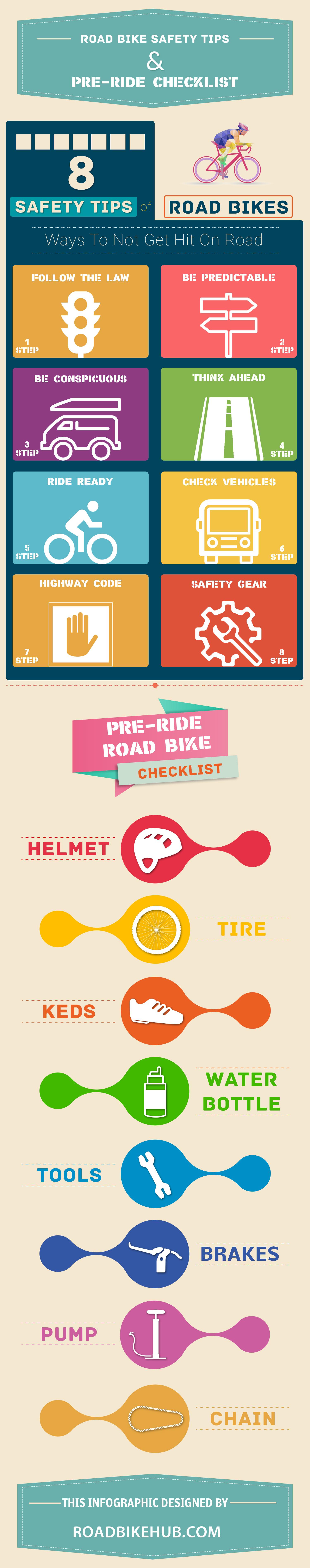 road bike safety tips