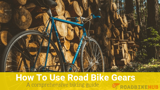 how to use a road bike gears tips